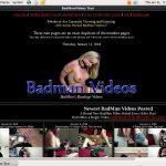 BadMan Videos Accounts And Password