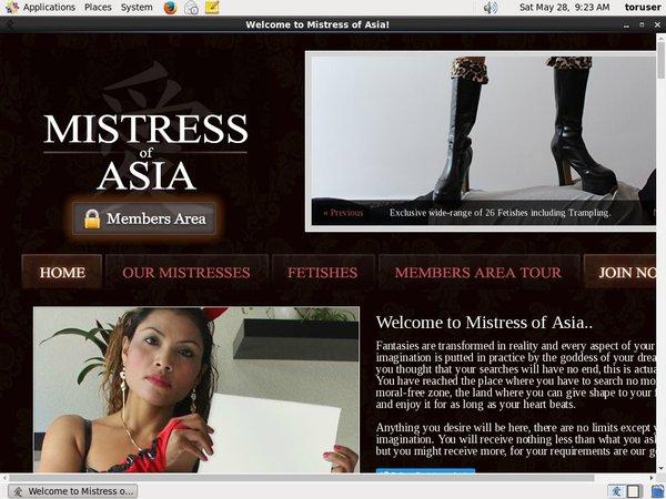 Password Mistress Of Asia Free