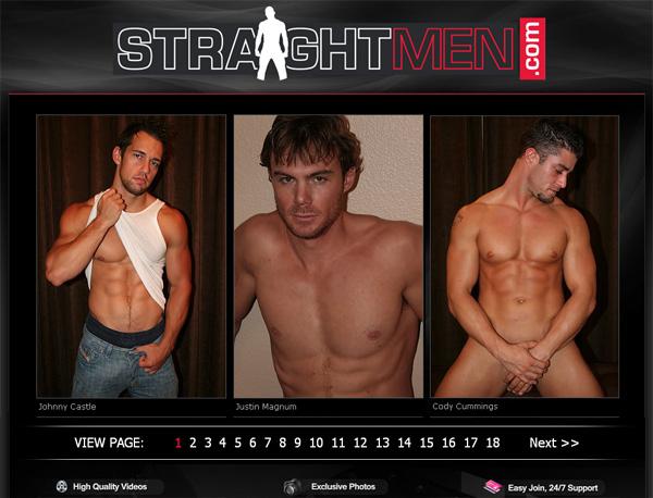 Straightmen.com アカウント