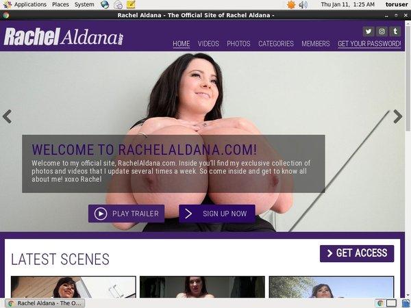Join Rachel Aldana For Free